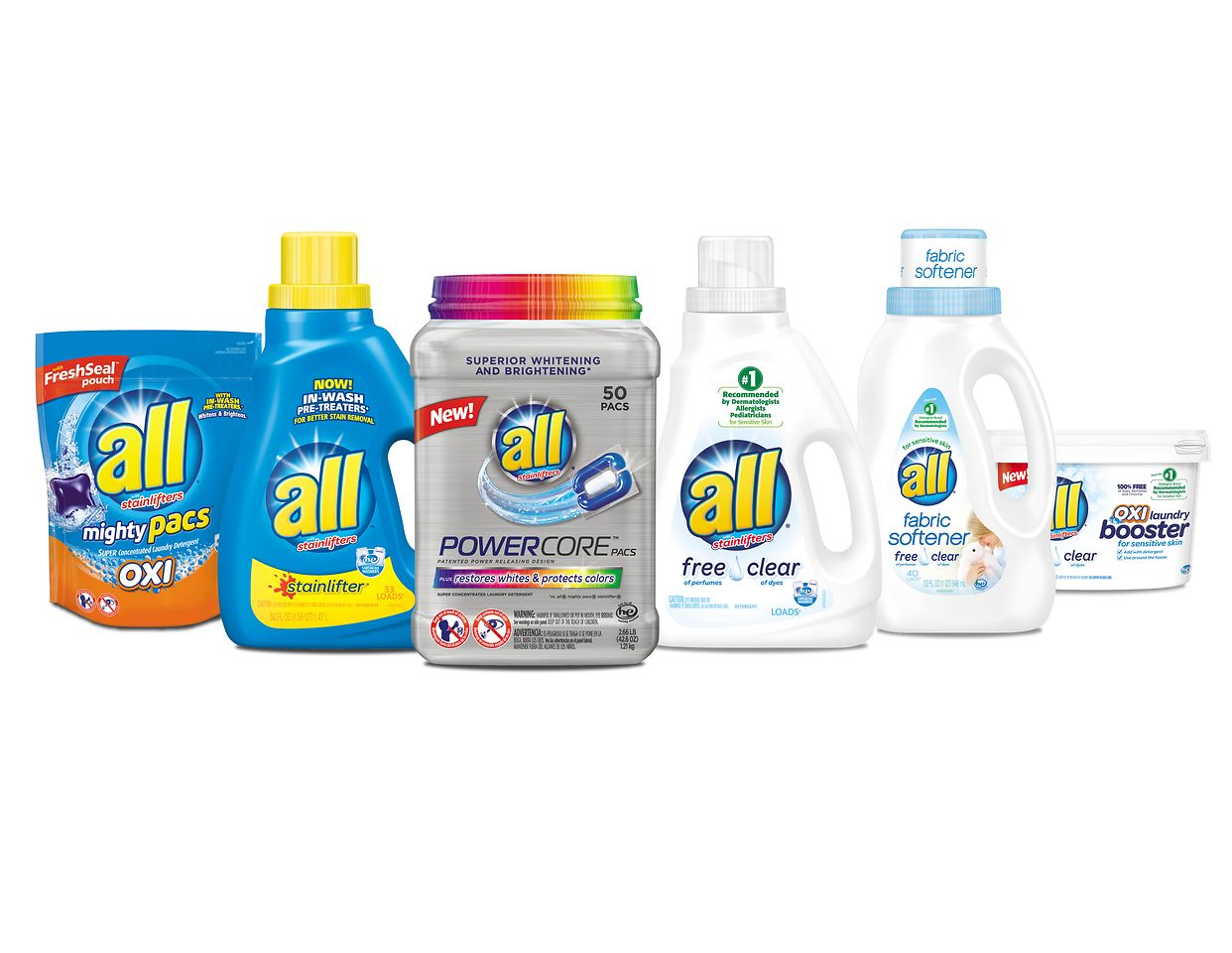 all products range