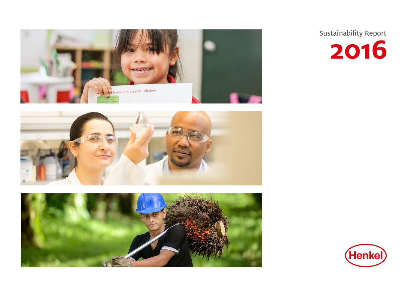 Cover Sustainability Report 2016
